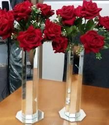 R$ 60,00 Arranjos de flores o par.