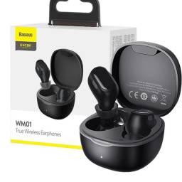 Fone De Ouvido Bluetooth Earphones Wm01 Baseus Tws