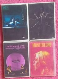 DVDs( acervo próprio não são originais)