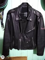 Vendo jaqueta couro M