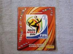 Álbum De Figurinhas Copa Africa Do Sul 2010 Incompleto