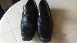 Sapato 43 couro preto