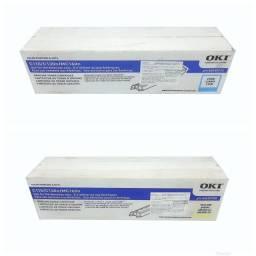 Lote com 2 Toner Okidata C110 Original Novo