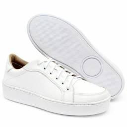 Sapato em couro legítimo