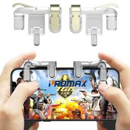 Adaptador Gatilhos Mx Para Jogos Celulares L1 R1 Freefire Fortnite Pubg