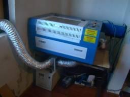 Compre e gere renda! Máquina de corte e gravação a laser. Canhão de 60 watts