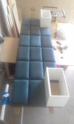 Cabeceiras de cama Almofadada
