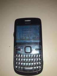 Vendo Nokia c3 em ótimo estado de conservação falar no chat o zap *21