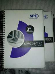 Pra desapegar- 2 Livros Enem SPE (Vol 3 e 4) + 1 livro de exercícios ENEM por 100 reais