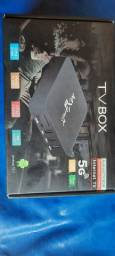 TV BOX QPRO 4K 5G 64G Memória Android 10.1