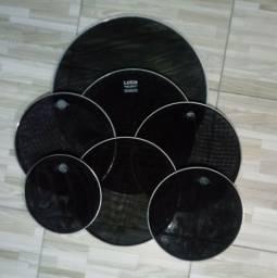 Jogo Pele Muda Bateria Acústica