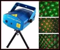 Mini Projetor Laser Balada Sensor Rítmico Festa - Loja Natan Abreu