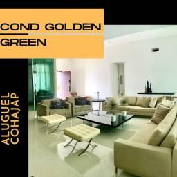 Cond. Golden Green- Casa mobiliada para alugar no Cohajap