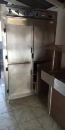 Geladeira de inox 4 portas gelopar industrial 220v
