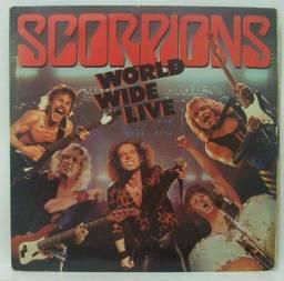 Lp do Scorpions - World Wide Live - Álbum Duplo!