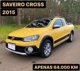 SAVEIRO CROSS 2015 1.6 CE APENAS 60 MIL KM (aceito troca e financio)