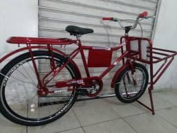 Bicicleta cargueira nova nunca usada