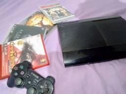 Playstation 3 (PS3) Bloqueado + 22 jogos