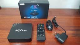 Conversor Tv Box Smart Tv 4k 10.1 4gb Ram 32gb Wifi 5g MX9