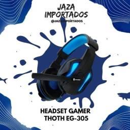 Headset Thoth EG-305 - Alta qualidade para sua melhor performance no jogo !
