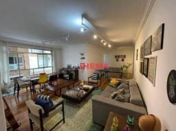 Título do anúncio: Apartamento com 3 dormitórios à venda, 139 m² por R$ 600.000,00 - Marapé - Santos/SP