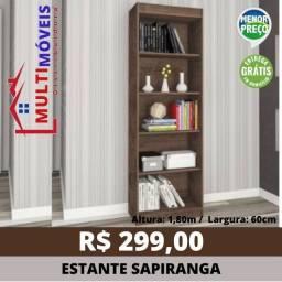 Título do anúncio: Estante Livreiro Sapiranga 2 Cores - Entrega Grátis