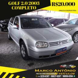 GOLF 2003/2003 2.0 MI 8V GASOLINA 4P MANUAL