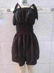 Vestido twill