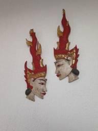 Par de deusas indianas