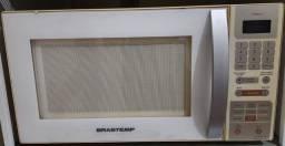 forno de micro-ondas brastemp maxi bms35bb - 30 l 220v