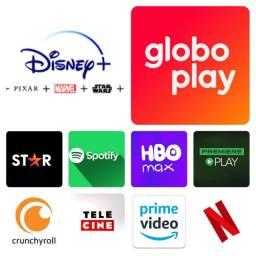 Título do anúncio: Netflix Disney Plus Globo Play