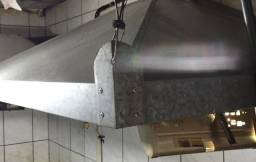 Coifa aço galvanizado