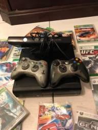 XBox 360 vários jogos e kinect