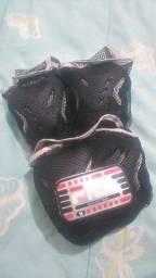 Kit de proteção Fitness com 06 pares de peças -TAM M