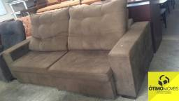 Sofá retrátil e reclinável super confortável com espuma R$:1200,00