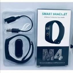 Pulseira Inteligente Smartband M4 Monitor Cardíaco + Brinde