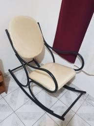 Cadeira de balanço estilo Austríaca