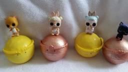 Bonecas Lol Pets 4 unidade e 1 boneca