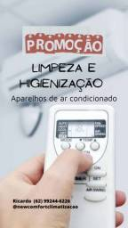 Título do anúncio: Higienização de Ar Condicionado