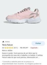 Tênis Adidas falcon femenino