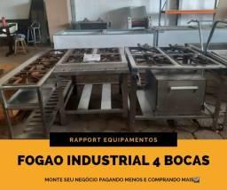Fogao Industrial Baixa/Alta pressao