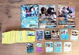 250 Figurinhas Pokemon Originais (algumas raras)! Aceito Cartão