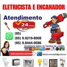 Título do anúncio: Elétricista e Encanador