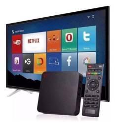 Tv Box 4k 128Gb + Brinde