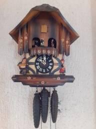 Relógio de parede Cuco germânico carrossel  musical