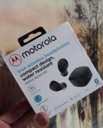 Título do anúncio: Fone de ouvido Motorola Original lacrado.