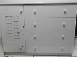 Comoda 4 gavetas com sapateira