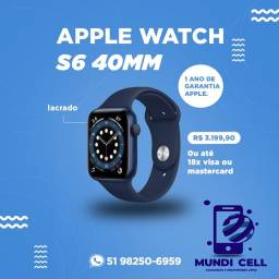 MUNDICELL APPLE WATCH S6 40MM LACRADO ORIGINAL UM ANO DE GARANTIA APPLE