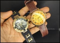 Combo 2 relógios Invicta Subaqua/Mont Blanc Social
