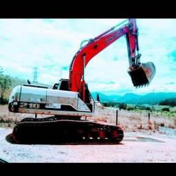 Aluga se escavadeira 22 toneladas